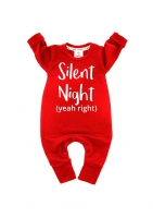 "ROMPER ""SILENT NIGHT """