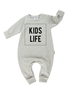 LONG SLEEVES ROMPER ROCKET PATCHES