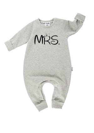 "LONG SLEEVES ROMPER ""MRS"""