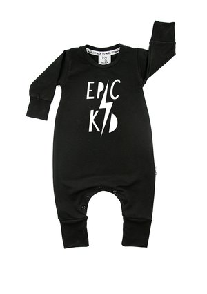 "LONG SLEEVES ROMPER ""KIDS RULE"""