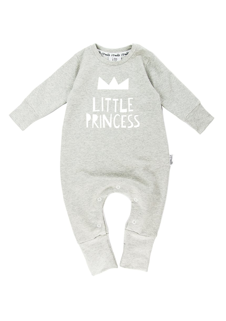 "LONG SLEEVES ROMPER ""LITTLE PRINCESS"""