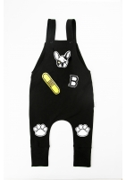 "DUNGAREES ""DOG PATCHES"""