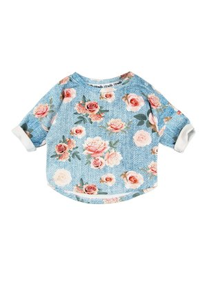 SWEATSHIRT DENIM ROSE