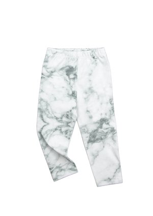 TROUSERS WHITE MARBLE