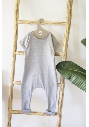 SHORT SLEEVES ROMPER BASIC