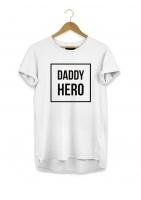 "T-SHIRT DAD ""DADDY HERO"""