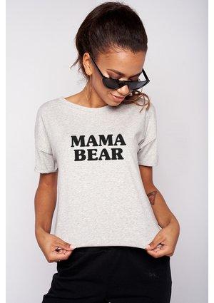 "T-SHIRT MAMA "" MAMA BEAR"""