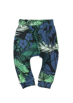 TROUSERS BLUE EXOTIC