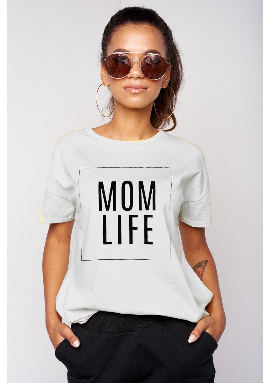 "T-SHIRT MAMA ""MOM LIFE"""