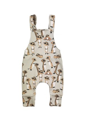 DUNGARESS TIMON BEIGE PRINT