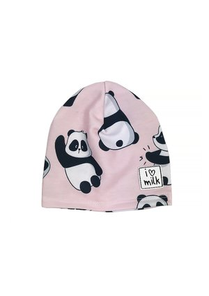 HAT BEANIE POWDER PANDA PRINT