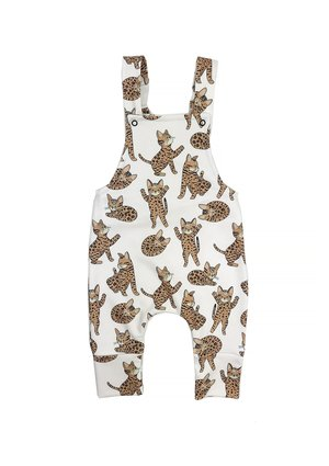 DUNGARESS CAT PRINT