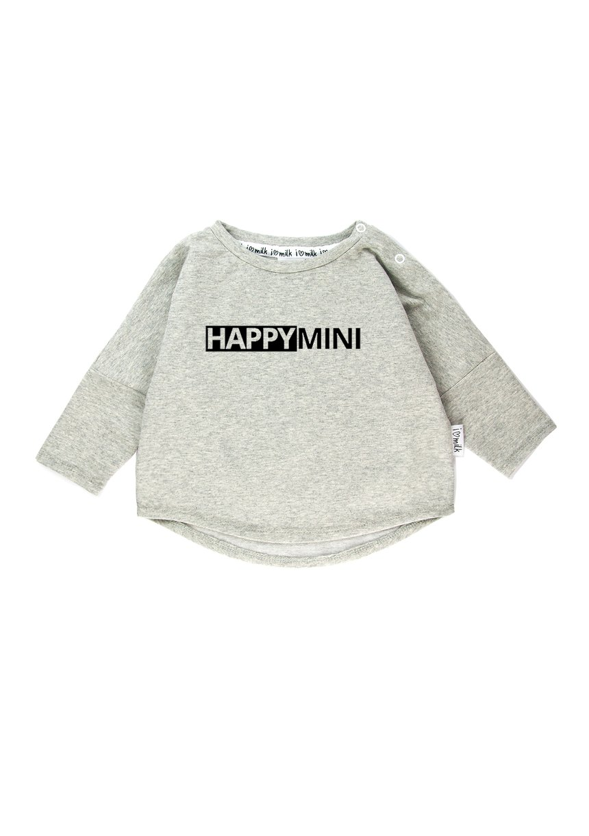 "SWEATSHIRT ""HAPPY MINI"""