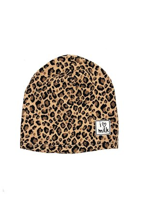 HAT BEANIE PANTHER PRINT