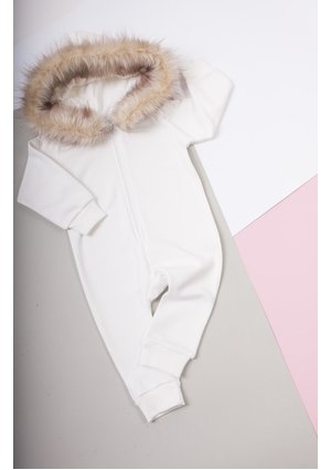 ONESIE WITH FUR