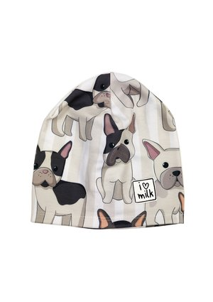HAT BEANIE FRENCH DOG  PRINT
