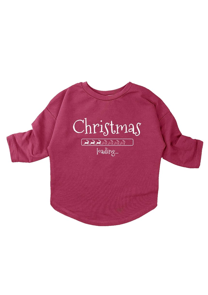 "BLUZA ""CHRISTMAS LOADING"""