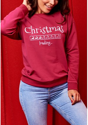 "SWEATSHIRT MAMA ""CHRISTMAS LOADING"""