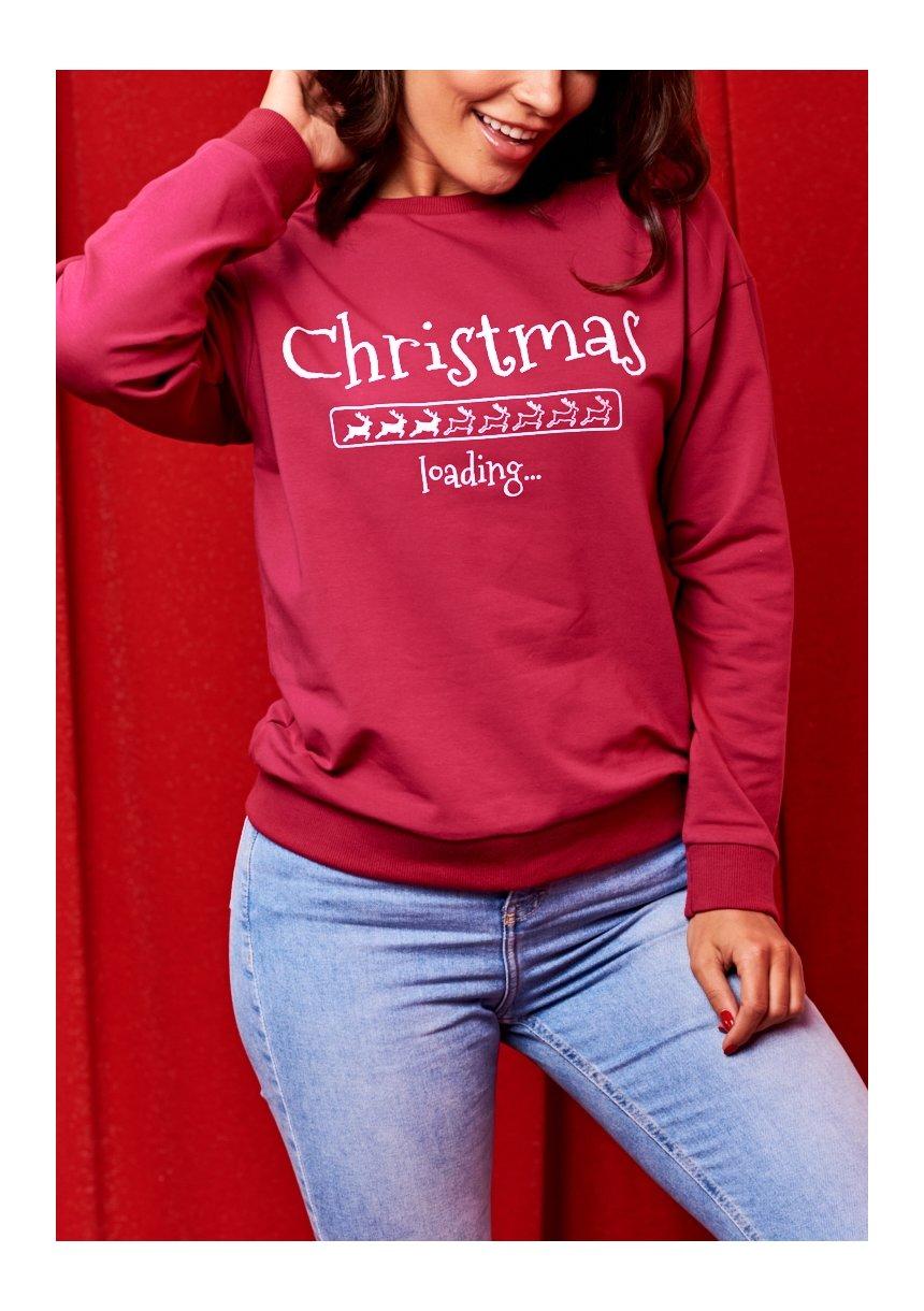 "BLUZA MAMA ""CHRISTMAS LOADING"""