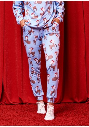 TROUSERS MAMA CHRISTMAS DEER ILM