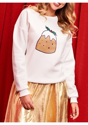 SWEATSHIRT COLORS COOKIE PRINT