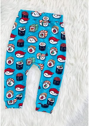 TROUSERS SUSHI PRINT