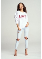 "BLUZA ""RED LOVE"" MAMA"