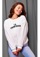 "SWEATSHIRT ""LA PRINCESSA"" MUM"