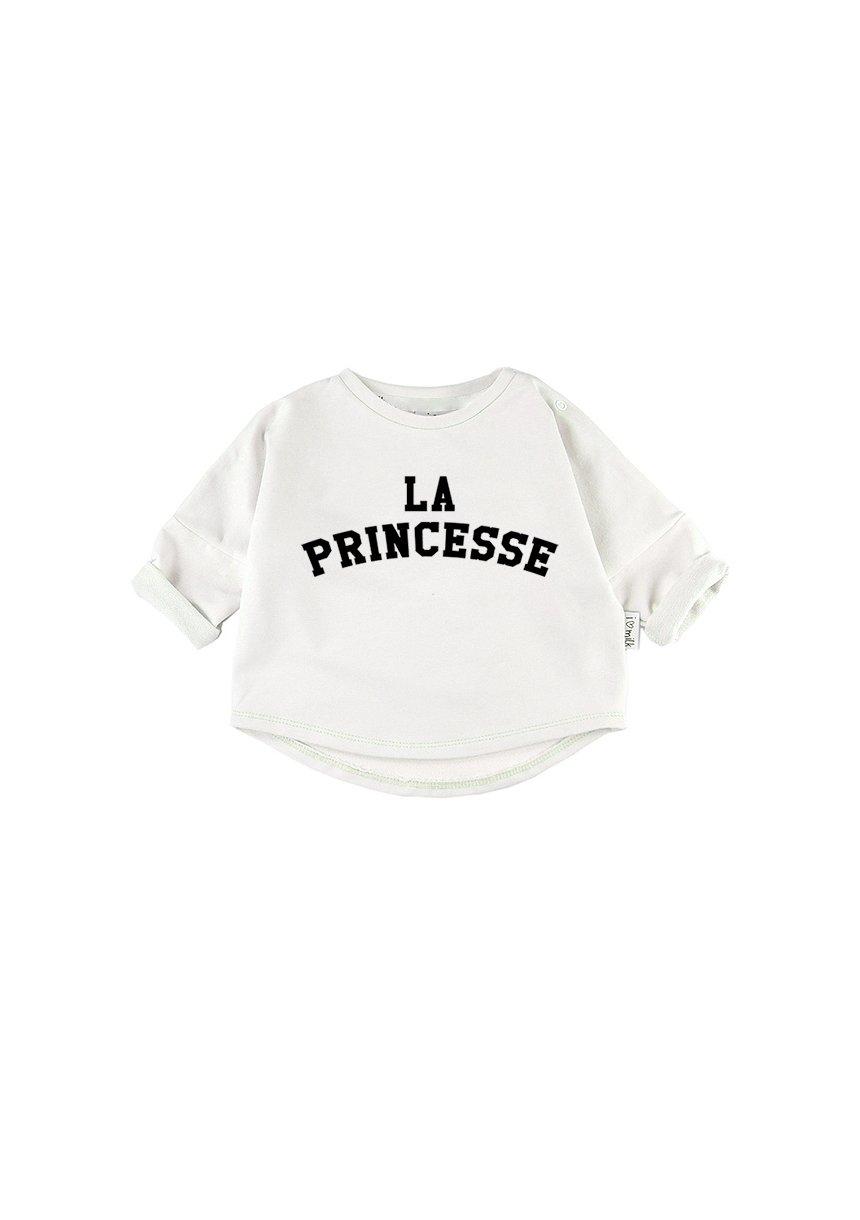 """LA PRINCESSE"" PRINT SWEATSHIRT"