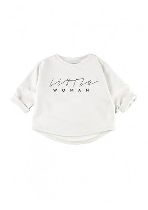 """LITTLE WOMAN"" PRINT SWEATSHIRT"