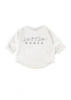 """LITTLE WOMAN"" PRINT SWEATSHIRT"