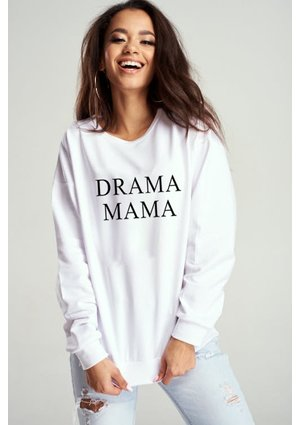 "SWEATSHIRT ""SUPER WOMAN"" MUM"