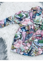 DRESS BUTTERFLY PRINT