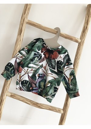 BLUZA TROPICAL PRINT