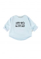 "SWEATSHIRT ""SORRY GIRLS"""