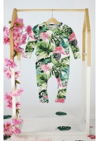 MONSTERA PRINT ROMPER