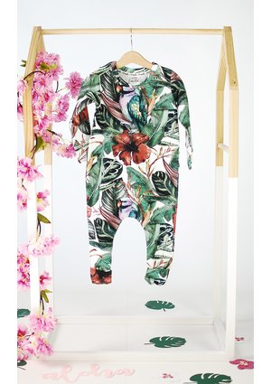 ROMPER TROPICAL PRINT