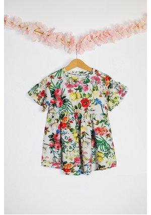 DRESS SUMMER FLOWER PRINT