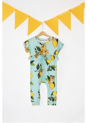 SUMMER FLOWER PRINT ROMPER