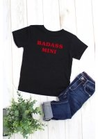 "T-SHIRT ""BADASS MINI"""