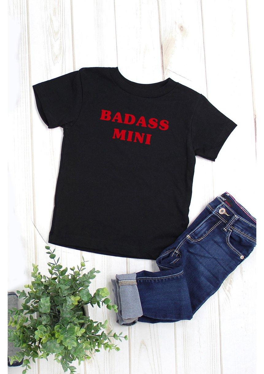 "T-SHIRT  ""BADASS MINI"""