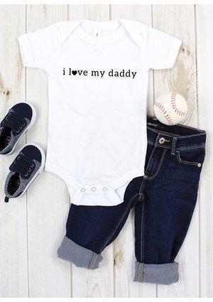 """BODY KRÓTKI RĘKAW """"I LOVE DADDY"""""""