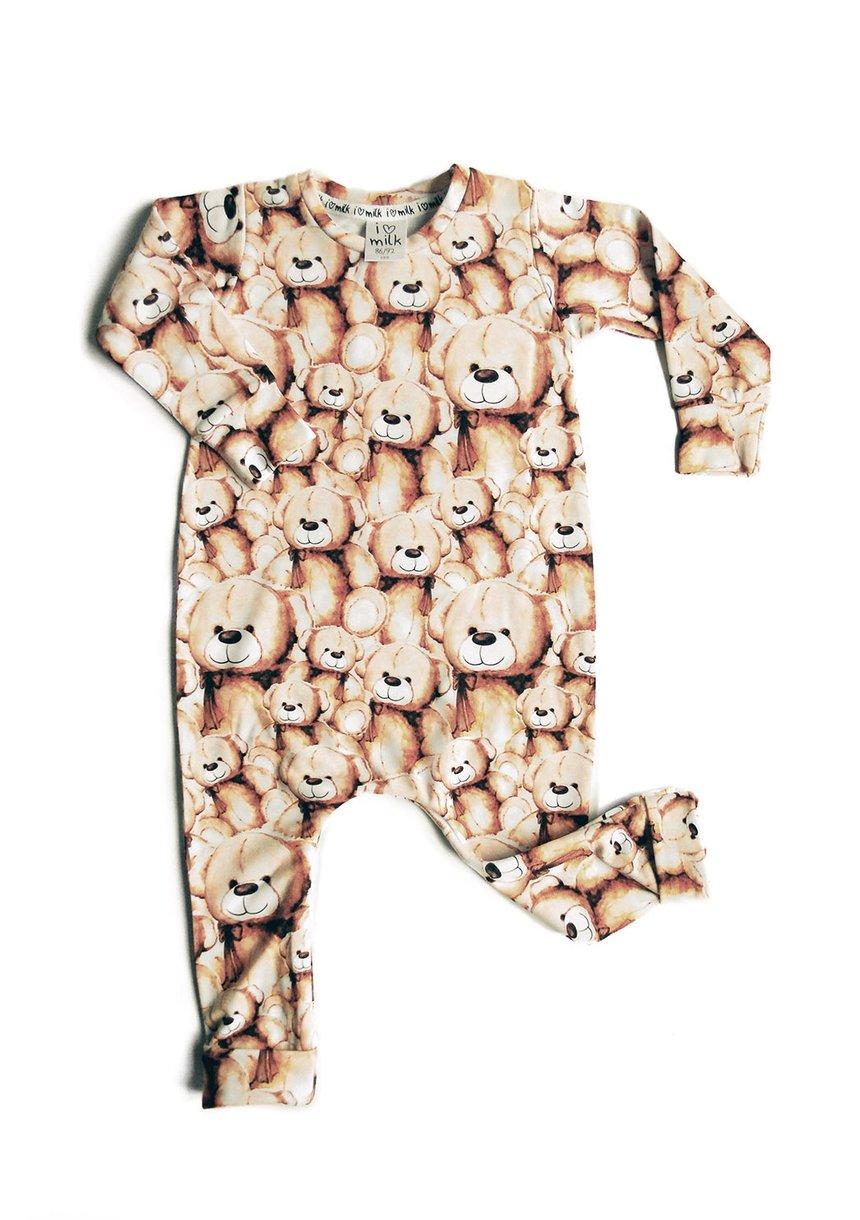 Romper print teddy bears