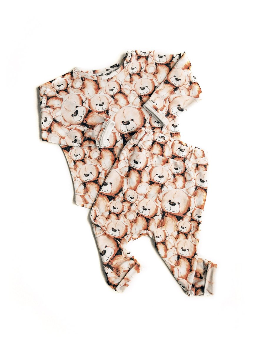 Spodnie print teddy bears