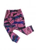 Spodnie print colors leopard