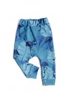 spodnie navy flaming