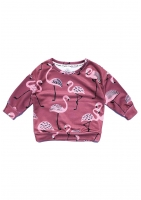 blues print flamingos