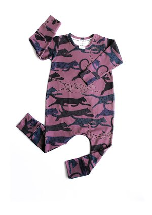 romper print colors panther