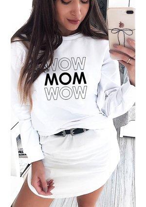 "Bluza mama ""MOM MOM"""