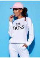 """Bluza mama """"the boss"""""""